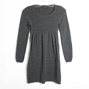 Theory stretch wool blend mini petite dress P XS